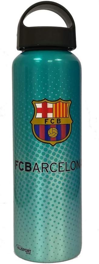 Alusport Bottles FCB Summer Botella Deportiva, Hombre, Azul, L