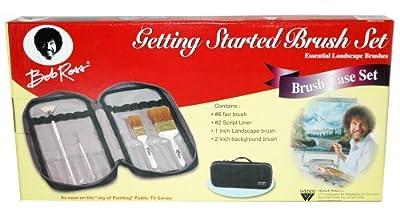 Bob Ross R6546 Essential Getting Started Brush Set