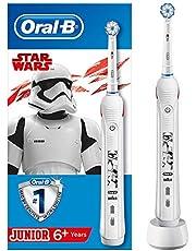 Oral-B Junior Cocuklar Icin Şarj Edilebilir Diş Fırçası Star Wars (6+ Yaş), Beyaz