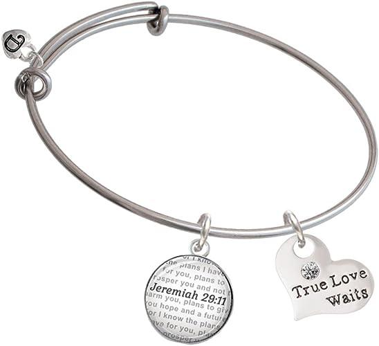 KnSam Women Silver Plate Bangle Bracelets Open Silver Novelty Bracelet