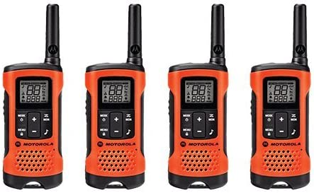 Motorola Talkabout T265 Rechargeable Two-Way Radio, 4 Pack