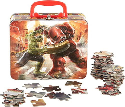 [Avengers 2 Age of Ultron 100 Piece Puzzle with Tin by Cardinal] (Superheroes In The Avengers)