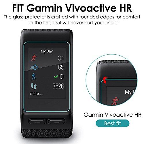 Protector de Pantalla de Vidrio Templado para Garmin Vivoactive HR ...