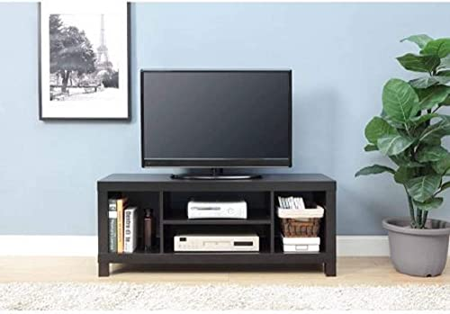 Mainstay.. TV Stand for TVs up to 42 , Dimension 47.24 x 15.75 x 19.09 Inches White Espresso
