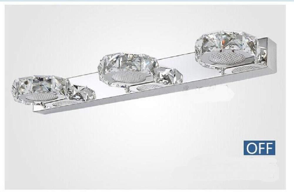 BWLZSP 1 UNIDS UNIDS UNIDS laacute;mpara de Pared de Cristal LED laacute;mpara de Maquillaje de Moda bantilde;o Espejo laacute;mpara de Pared de Acero Inoxidable gabinete 2/3 Cabeza laacute;mpara de Pared AP718919PY 762ffe