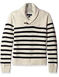 "Nautica Little Boys' Toddler ""Toggle Shawl"" Sweater"