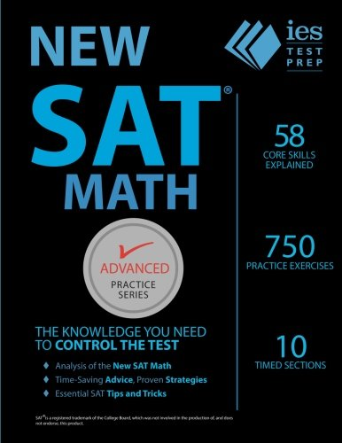 New SAT Math Practice Book (Advanced Practice Series)