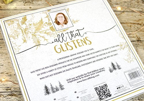 "First Edition Christmas 2018 - All That Glisterns Premium Paper Pad 8""x8"" 48 Sheets (FSC)"