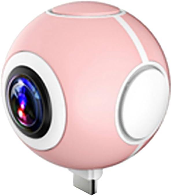 MagiDeal 360 ° Grados VR Camera Doble Lente Cámara Fotográfica ...