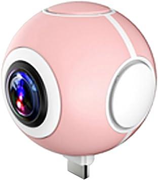 MagiDeal 360 ° Grados VR Camera Doble Lente Cámara Fotográfica Videocámara Tiempo Real Seamless para Android Huawei Honor 6 7 Xiaomi Mi 4 5 5S Redmi Note3 Samsung S7EDGE HTC Nexus 5: Amazon.es: Electrónica