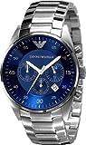 Emporio Armani Blue Dial Chronograph Mens Watch AR5860