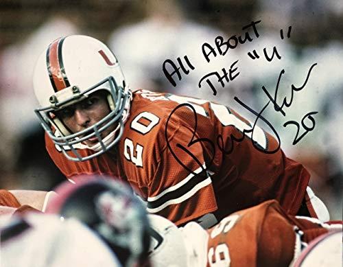 Bernie Kosar Miami Hurricanes 16-2 16x20 Autographed Photo - Certified -