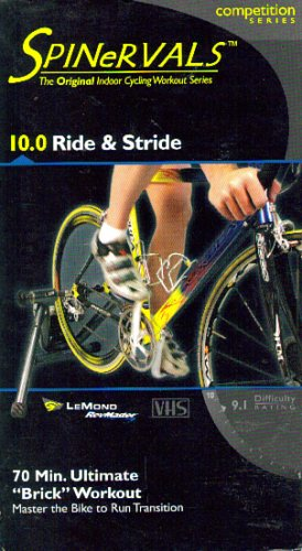 Spinervals, The Original Indoor Cycling Workout Series: 10.0 Ride & Stride (70 min. Ultimate