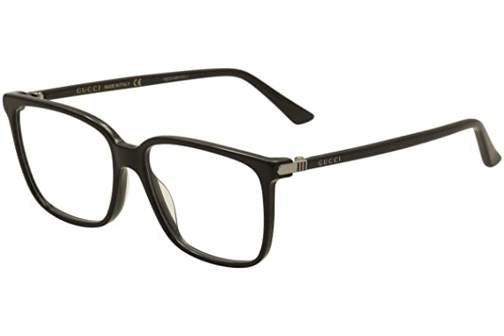 Amazon.com: Gucci - GG0019O-001 Optical Frame ACETATE: Clothing