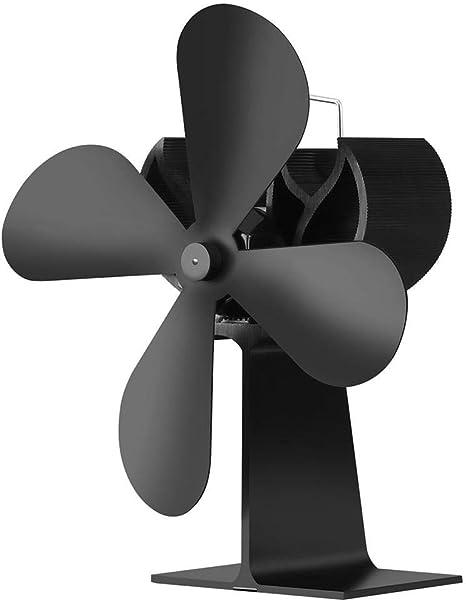 AITOCO Ventilador de 4 aspas con Potencia de Calor, Ventilador de ...