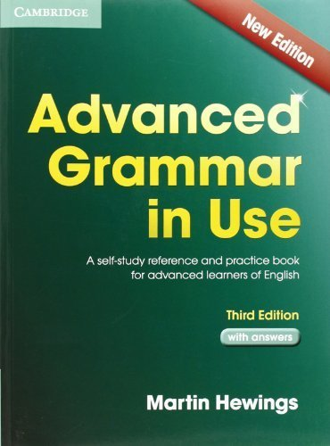 Advanced Grammar in Use with Answers: A Self-Study Reference and ...