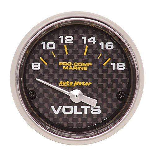- Auto Meter AutoMeter 40 200756-40 Gauge, Voltmeter, 2 1/16
