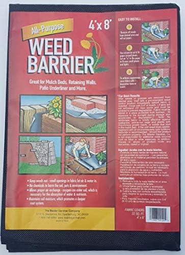 4X8 Landscape Fabric Patio Underliner Garden Liner Fabric Master Gardner Company All Purpose Weed Barrier Liner