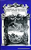 img - for Medieval Humanism and Other Studies book / textbook / text book