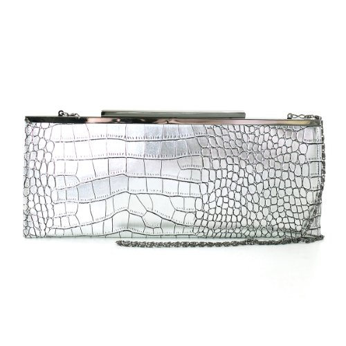 Fashion Metallic Croc Embossed Framed Fl - Metallic Embossed Croc Shopping Results