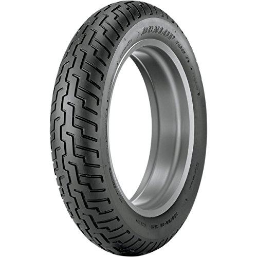 Dunlop D404 Tire - Front - 110/90-18 , Speed Rating: H, Tire Type: Street, Tire Construction: Bias, Position: Front, Rim Size: 18, Load Rating: 56, Tire Application: Cruiser, Tire Size: 110/90-18 32NK29 by Dunlop Tires