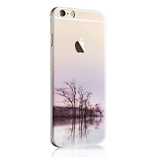 31 opinioni per Cover iphone SE, Custodia iphone 5s, Sunroyal® Paesaggio Scenario Creativa Cover