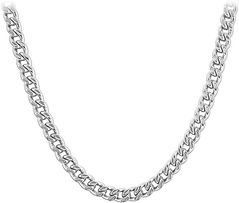 Best Birthday Gift Stainless Steel Antiqued Snake 22in Necklace