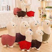 YENJO Alpaca Doll Plush Toy Stuffed Animal Sleeping Pillow Birthday Gift Stuffed Animals & Teddy B