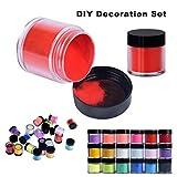 Acrylic Powder, Aimik 18 Colors Acrylic Nail Art