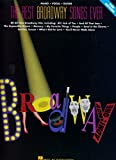 [(The Best Broadway Songs Ever: Piano, Vocal, Guitar )] [Author: Hal Leonard Publishing Corporation]...