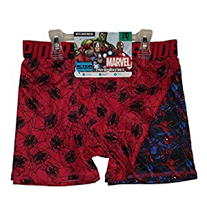 Action Underwear 2 Pack Boys Boxer Briefs