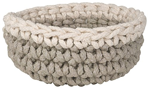 Danica Studio Crocheted Basket, Ivory