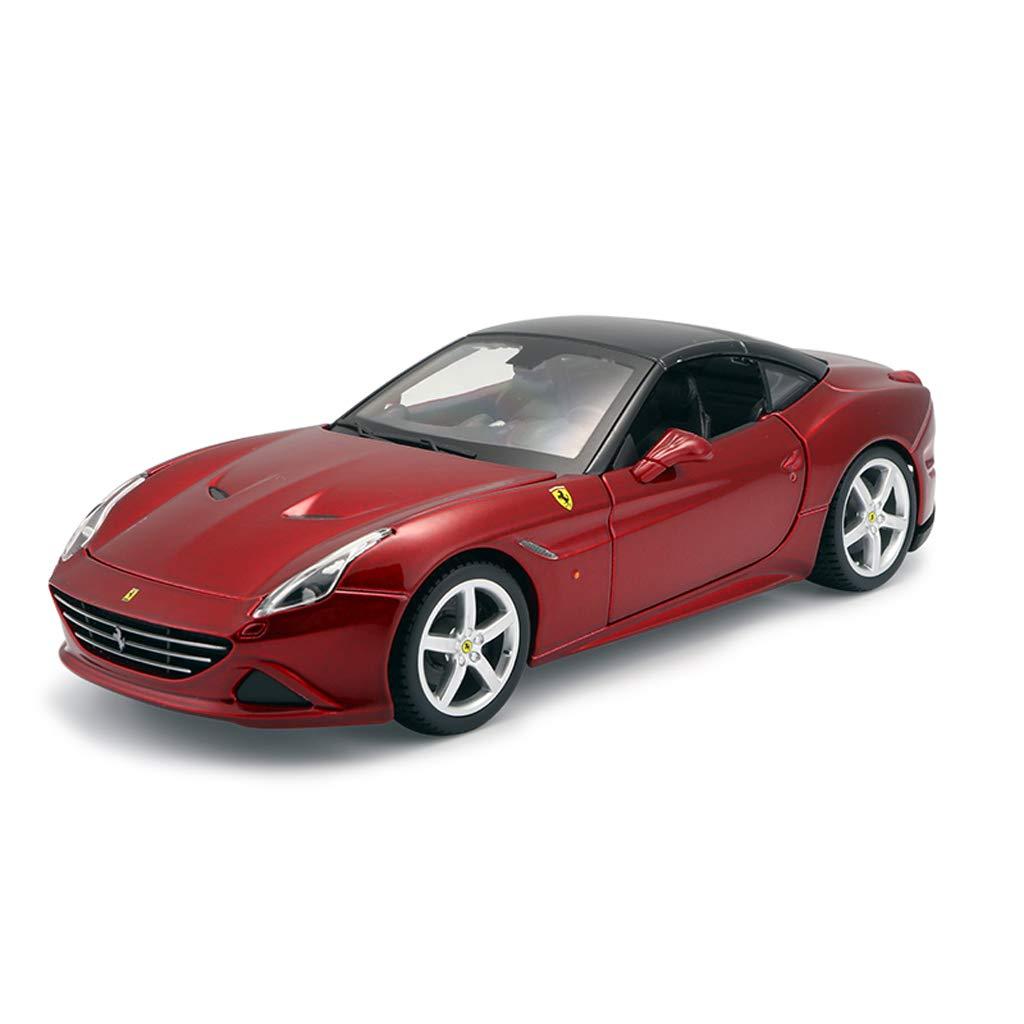 GYZS-TOY Ferrari Automodell 1:24 Simulation Ursprüngliche Legierung California T Sportwagen-Modell Sportwagen-Modell Sportwagen-Modell Dekoration (Farbe : B) c4e720