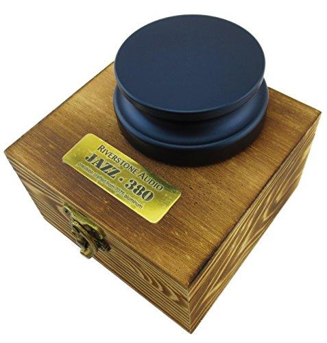 Riverstone Audio - Jazz Series 380 Record Weight Stabilizer - Medium Weight (380 g) Anodized Aluminum Color: (Deep Ocean)
