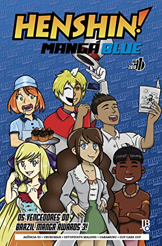 Henshin Mangá Blue #01 por [Vencedores do BMA]