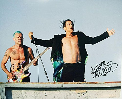 autographed red hot chili peppers - 2