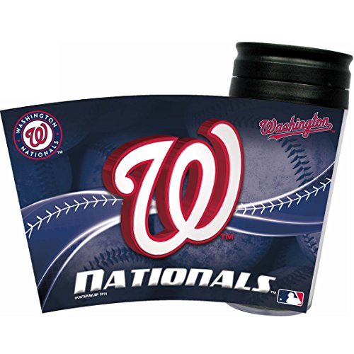 MLB Washington Nationals Insulated Travel Tumbler - Washington Nationals Tumbler