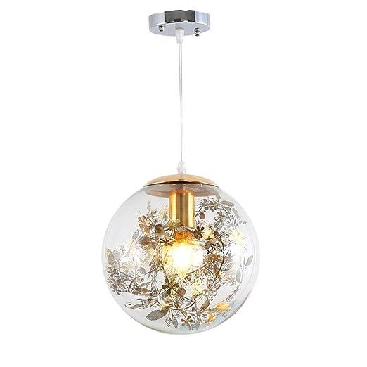 De Bola Decoración 1 E27 Lámpara Ll Coeur Cristal X Lustre Techo qzGSMVpU