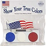 Patriotic Face Paint Make Up Kit