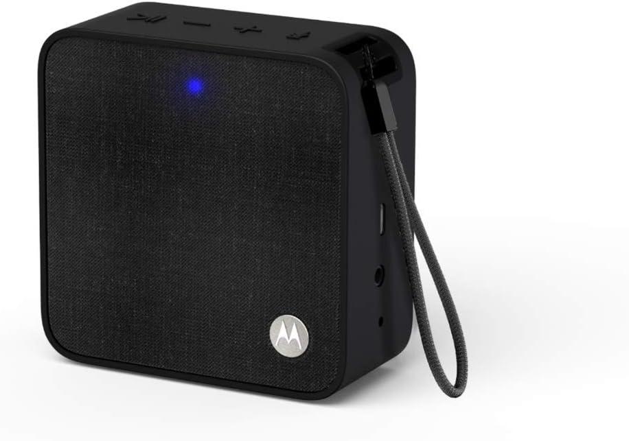 Motorola Sonic Boost 210 - Altavoz inalámbrico Bluetooth, Color Negro