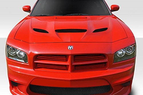 Duraflex ED-XGI-208 Hellcat Look Hood - 1 Piece Body Kit - Compatible For Dodge Charger 2006-2010