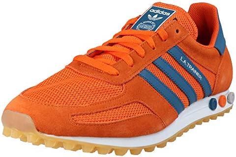 adidas Originals LA Trainer OG Men's Sneakers Orange, Shoe Size:48 ...