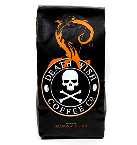Death Wish Coffee Organic Pumpkin Spice Coffee – 12 oz Bag (Whole Bean)