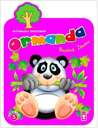 Ormanda Boyama Zamani Br Hayvanlarla Tanisiyorum 9786051146591