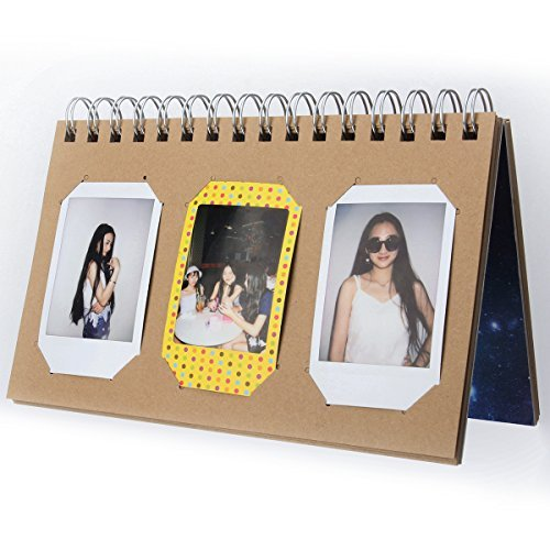 [Fujifilm Instax Mini Photo Album] Woodmin Calendar Album for 3-inch films (Galaxy) Good Christmas Story Quotes