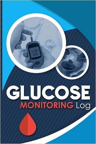 glucose monitoring log blood glucose record sheet diabetic glucose