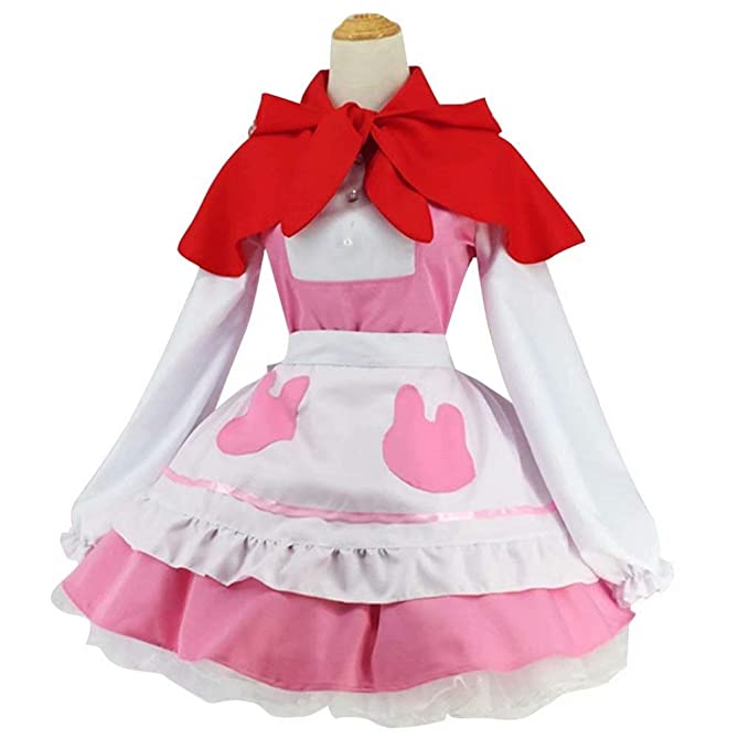 Amazon.com: Anime KannaKamui - Disfraz de Loli Maid: Clothing
