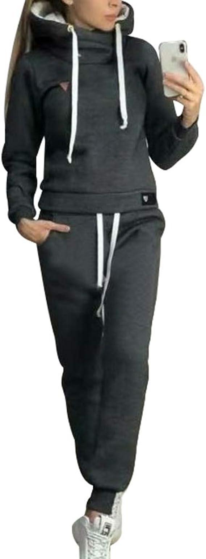 Chandal Conjunto Para Mujer Invierno Otono Casual Conjuntos Deportivos Moda Manga Larga Pullover Con Cordon Sudadera Tops Pantalones Largo 2pcs Tallas Grandes Amazon Es Ropa Y Accesorios
