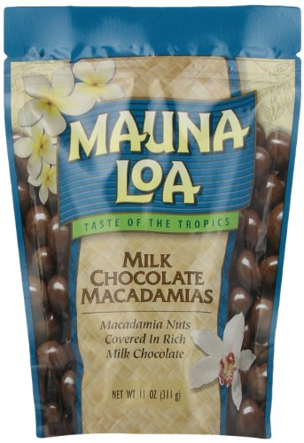 Mauna Loa Macadamias, Milk Chocolate, 11-Ounce Package