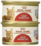 Royal Canin Feline Health Nutrition Adult Instinctive Loaf in Sauce Canned Cat Food (Case of 24/1), 3 oz